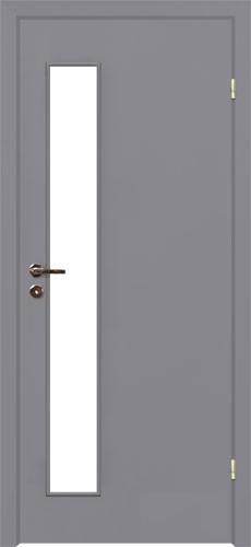 Серая дверь