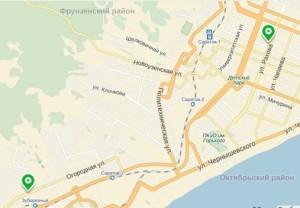 Фото: розничные магазины «Профком» - схема проезда.