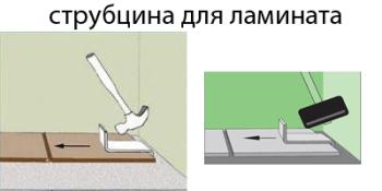 струбцина для ламината