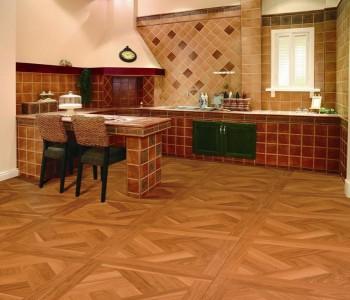 Кухня с ламинатным покрытием