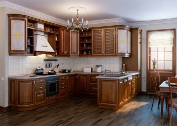 Влагостойкий ламинат 33 класса на кухне