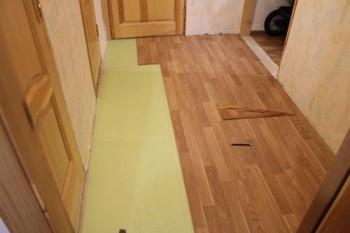 Укладка ламината в коридоре не столь сложное дело