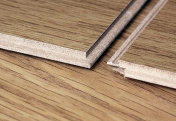 Замковые соединения пластин покрытия в помещении