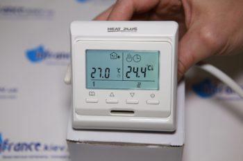 Терморегулятор подключен