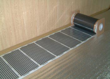 Укладка термопленки