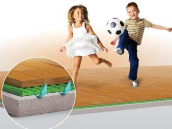 Звукоизоляция в особенности нужна для квартиры, где играют дети