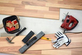 Инструменты для монтажа материала