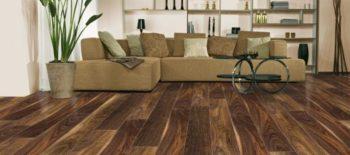 Ореховый цвет выгодно сочетается с мебелью