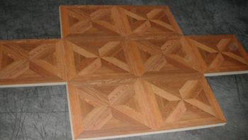 Компоновка квадратных панелей ламината