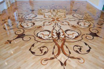 Эксклюзивный художественный ламинат для большой комнаты