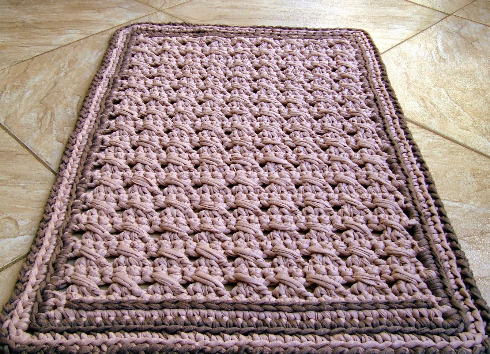 Вязание коврики спицами видео