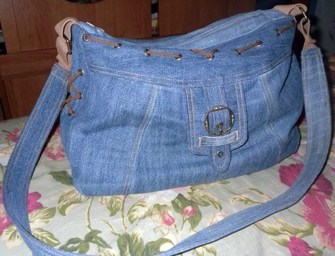 Коврик из старых джинсов своими руками - что и как создать?