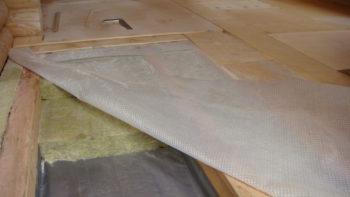 Шумоизоляция деревянного пола второго этажа