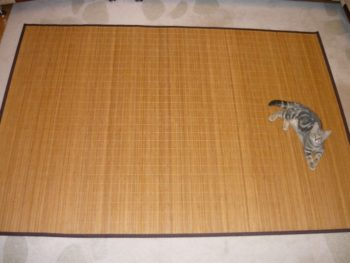 Бамбуковая циновка
