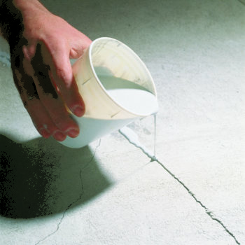 Трещины на наливном полу