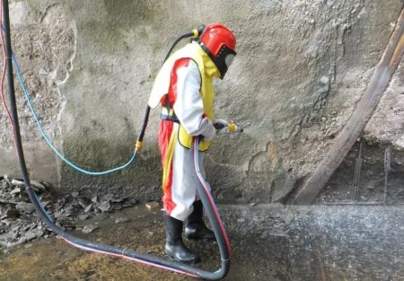 Очищение поверхности