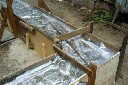 Покрытие бетона