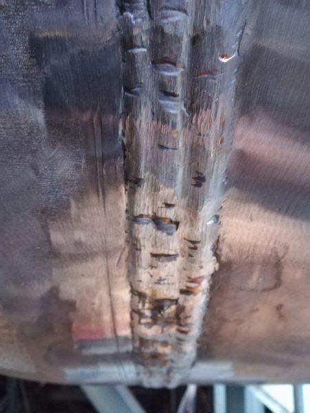 Электрогазосварочные швы