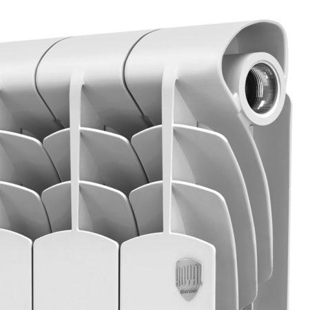 Практичные биметаллические радиаторы отопления RoyalThermo Revolution Bimetall 500x12 из 12 секций