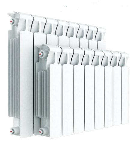 Надежная монолитная модель Rifar Monolit 500x10 применяется в любых системах отопления