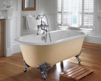 Ламинат Эггер в ванной