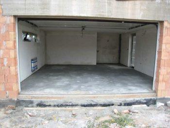 Стяжка в гараже