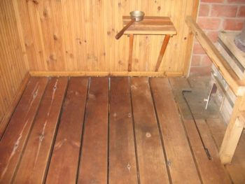 Полы из древесины