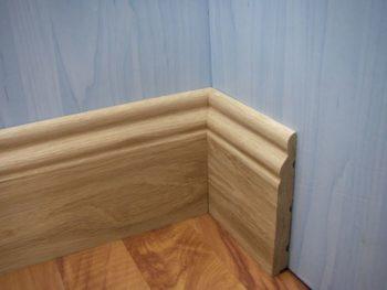 Плинтус – хороший финишный элемент напольного покрытия