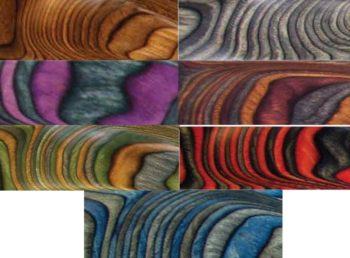 Ассортимент панелей яркого цвета для создания уникального интерьера сегодня безграничен