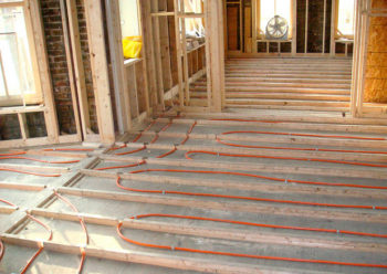 Монтаж на деревянное покрытие