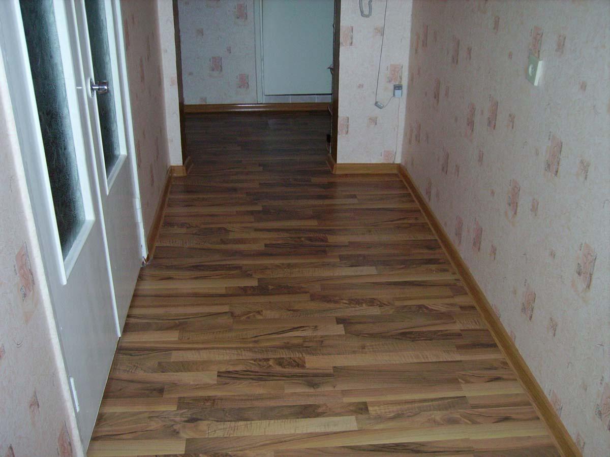 Укладка ламината в т образном коридоре фото