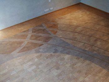 Пробковый ламинат с орнаментом