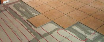 Установка кабельного пола требует поверх бетонной стяжки