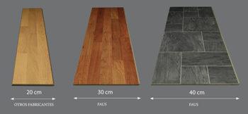 Размеры ламинированной доски