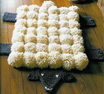 19-4-350x316 Делаем шикарные коврики своими руками
