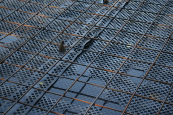 Металлическая сетка для теплого пола