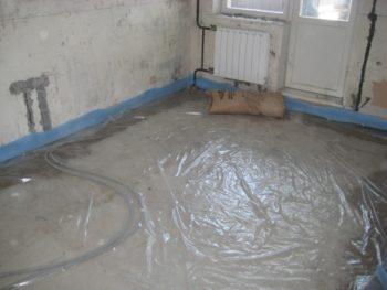Устройство бетонных полов - порядок проведения работ