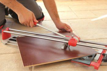 Как положить плитку на пол по диагонали