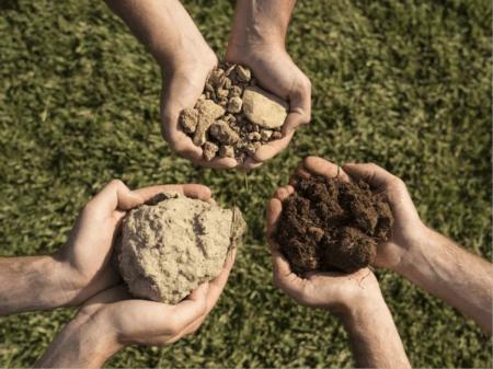 Разные типы почвы