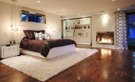 Ковер для большой спальни
