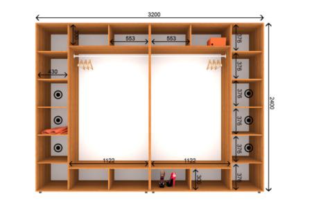 Длина шкафа